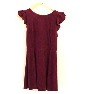 Suede dress